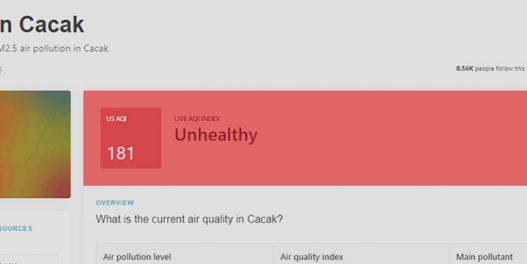 Šta znače boje i brojevi koje vidimo na aplikacijama za kvalitet vazduha?
