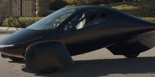 Projektovan automobil na solarni pogon kome nije potrebno punjenje
