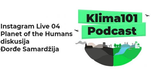 Instagram Live 04 Planet of the Humans diskusija - Đorđe Samardžija