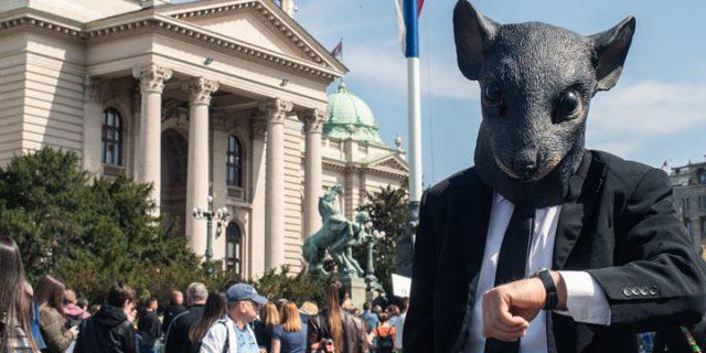 ekološki protest srbija