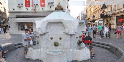Javne česme – Gradske oaze  u vrelim letnjim danima