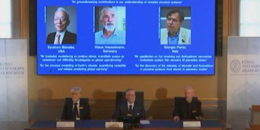 Klimatolozi za Nobela: Prestižna nagrada otišla u ruke utemeljivača klimatskog modeliranja